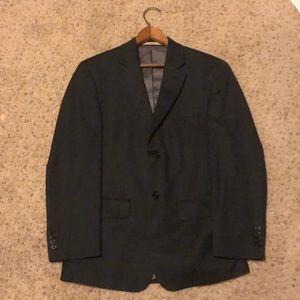 Joseph Abboud Black Striped Suit Jacket Size 36 S